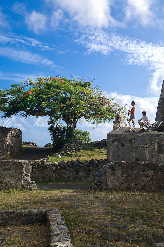 Tiffany and Devon <br /> Annaberg Sugar Plantation Ruins<br /> Virgin Islands National Park<br /> St. John, U.S. Virgin Islands