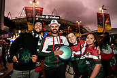 4th November 2017, Sydney Football Stadium, Sydney, Australia; Rugby League World Cup, England versus Lebanon; Lebanese fans pose before the game