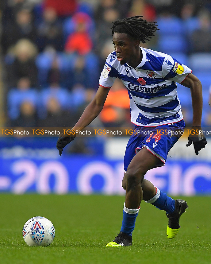 Ovie Ejaria of Reading during Reading vs Luton Town, Sky Bet EFL Championship Football at the Madejski Stadium on 9th November 2019