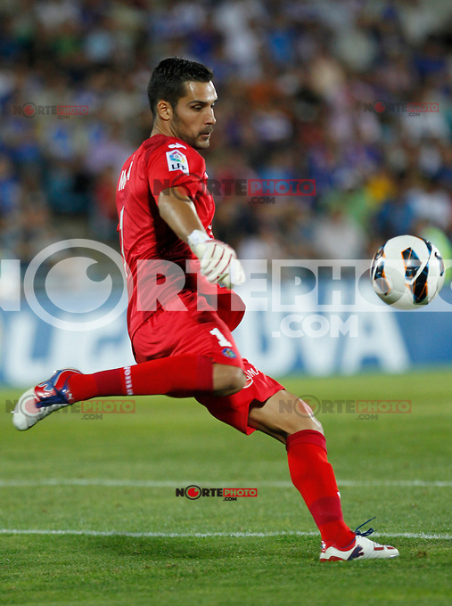 Madrid(26/08/2012).- Coliseum Alfonso Perez..Liga BBVA, Jornada n&ordm;2..Getafe - Real Madrid..Moya...Photo: Alex Cid-Fuentes / ALFAQUI.. /NortePhoto.com<br />