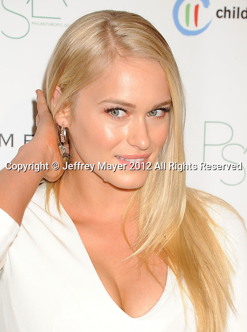 WEST HOLLYWOOD, CA - OCTOBER 17: Leven Rambin arrives at the 3rd Annual Autumn party at The London West Hollywood on October 17, 2012 in West Hollywood, California.