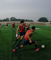 Carlos Martinez and William Packwood. U.S. Under-17 Men Training  Kano, Nigeria
