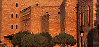 Castle of Sant Joan or La Suda, 10th century, Tortosa, Tarragona, Spain. The original Arab structure include the perimeter walls reinforced by square towers. Picture by Manuel Cohen