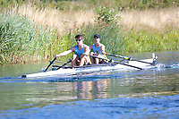 Race: 26  2x (Band 3)  Heat 2<br /> <br /> Peterborough Summer Regatta 2018 - Saturday<br /> <br /> To purchase this photo, or to see pricing information for Prints and Downloads, click the blue 'Add to Cart' button at the top-right of the page.