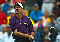Brad Faxon in action at the Bay Hill Invitational at Arnold Palmer's Bay Hill Club & Lodge in Orlando, FL in March 2003. (Photo by Brian Cleary / www.bcpix.com)