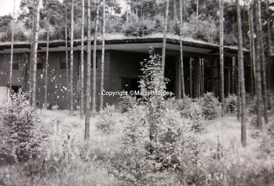 BNPS.co.uk (01202 558833)<br /> Pic: MartelMaides/BNPS<br /> <br /> A 'living roof' shows the extent of the Nazi's attempts to camouflage the Leese V2 factory from Allied aerial reconnaissance.<br /> <br /> A fascinating archive of photos that offer an insight into what postwar Germany was like just after the end of WW2 has come to light.<br /> <br /> The incredible album of 262 black and white pictures show the stark aftermath of the war - buildings reduced to rubble in the capital Berlin, a flooded town and an abandoned factory where the Germans made their deadly V-2 rockets.<br /> <br /> They are believed to have been taken by a British soldier who was with Allied forces administrating the war ravaged country a year after the end of hostilities.<br /> <br /> The archive is being sold by Martel Maides on Guernsey on June 9.