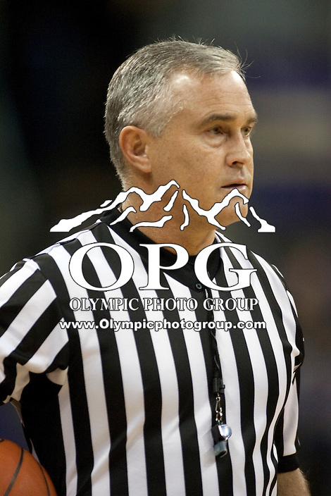 Dec 29, 2011:  NCAA basketball official Randy McCall was on hand for the Washington Vs Oregon State.  Washington defeated Oregon State 95-80 at Alaska Airlines Arena Seattle, Washington...