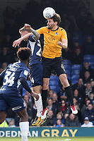 Jason Demetriou of Southend United and Edward Upson of Bristol Rovers during Southend United vs Bristol Rovers, Sky Bet EFL League 1 Football at Roots Hall on 7th March 2020