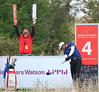 Aaron Rai (ENG) on the 4th tee during Round 4 of Made in Denmark at Himmerland Golf &amp; Spa Resort, Farso, Denmark. 27/08/2017<br /> Picture: Golffile | Thos Caffrey<br /> <br /> All photo usage must carry mandatory copyright credit     (&copy; Golffile | Thos Caffrey)