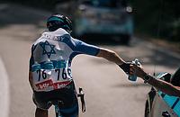 Roy Goldstein (ISR/Isra&euml;l Cycling Academy) on bottle duty<br /> <br /> 59th Grand Prix de Wallonie 2018 <br /> 1 Day Race from Blegny to Citadelle de Namur (BEL / 206km)