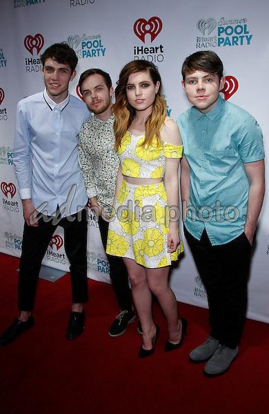 30 May 2015 - Las Vegas, Nevada -  Echosmith.  iHeartRadio Summer Pool Party at Caesars Palace.  Photo Credit: MJT/AdMedia