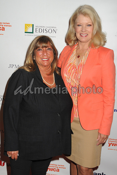 13 May 2015 - Los Angeles, California - Bonnie Tiegle, Mary Hart. YWCA Phenomenal Woman of The Year Award Ceremony held at The Omni Hotel. Photo Credit: Byron Purvis/AdMedia