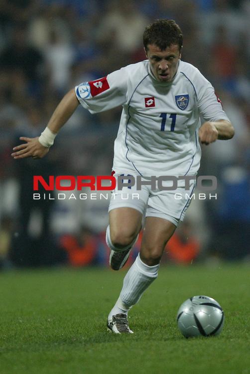 U21 - EM 2004 - Finale<br /> Serbien und Montenegro vs. Italien 0:3<br /> Igor Matic von Serbien und Montenegro.<br /> Foto &copy; nordphoto - Ruediger Lampe<br /> <br /> <br /> <br />  *** Local Caption *** Foto ist honorarpflichtig! zzgl. gesetzl. MwSt.<br />  Belegexemplar erforderlich<br /> Adresse: nordphoto<br /> Georg-Reinke-Strasse 1<br /> 49377 Vechta