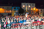 Wren Boy Night : A section of the crowd attending the Wren boy competition in Listowel on Friday night last