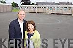 Kieran O'Toole Principal and Judy Costelloe Deputy Principal at Scoil Eoin, Tralee