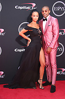 LOS ANGELES, CA - JULY 12: Draya Michele and Orlando Scandrick at The 25th ESPYS at the Microsoft Theatre in Los Angeles, California on July 12, 2017. Credit: Faye Sadou/MediaPunch