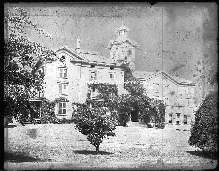 Frederick Stone negative. St. Margaret's School, 1892.