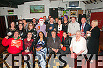 Garvey's Xmas Party: Staff of Garvey's Super Value. Listowel  who had a dinner at Eabha Joan's Restaurant, Listowel then visited McCarthy's Bar, Finuge and then the Kingdom Bar, Listowel enjoying their Christmas presents on Saturday night last.