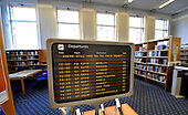 Shettleston Library - Glasgow - travel section destinations - picture by Donald MacLeod -27.02.13 - 07702 319 738 - clanmacleod@btinternet.com - www.donald-macleod.com