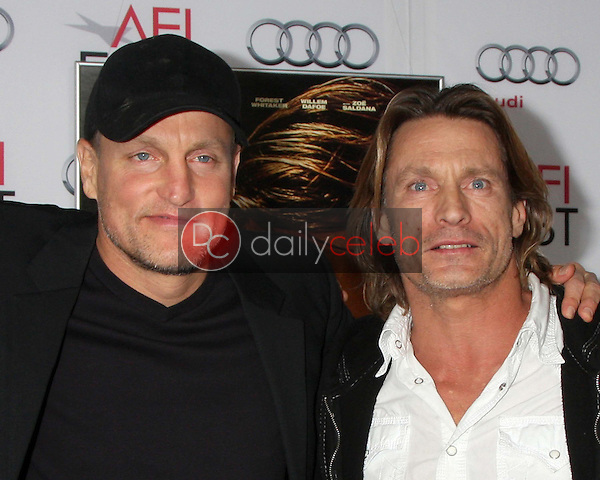 Woody Harrelson, Brett Harrelson<br /> at the &quot;Out Of The Furnace&quot; Premiere as part of AFI FEST 2013, Chinese Theater, Hollywood, CA 11-09-13<br /> David Edwards/DailyCeleb.com 818-249-4998