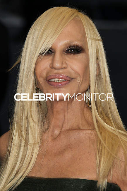 "NEW YORK CITY, NY, USA - MAY 05: Donatella Versace at the ""Charles James: Beyond Fashion"" Costume Institute Gala held at the Metropolitan Museum of Art on May 5, 2014 in New York City, New York, United States. (Photo by Xavier Collin/Celebrity Monitor)"