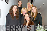 Fashion Show in Scartaglen Heritage Centre on Friday night, in aid of Scartaglen Ladies Football team.  Pictured here were some of the models on the night and members of the football team.  Back Row L-R : Maureen Brosnan of Scartaglen and Melissa O'Callaghan of Cordal.  Middle Row L-R : Kate Murphy of Scartaglen, Marie O'Connor of Ballydesmond and Clodagh Collins of Scartaglen.  Front Row is Rebecca Kerin of Scartaglen.