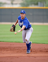 Eric Hosmer / Kansas City Royals 2008 Instructional League..Photo by:  Bill Mitchell/Four Seam Images