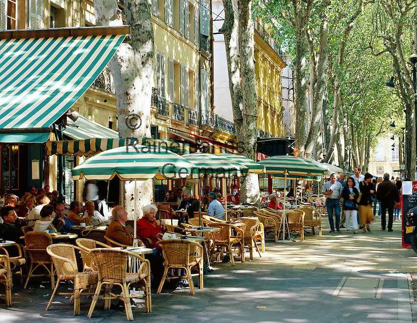Cafe De Paris Aix En Provence