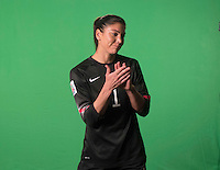 Winnipeg, Canada- June 5, 2015: In preparation for the FIFA Women's World Cup members of the USWNT have their accreditation photos and introduction videos taken.