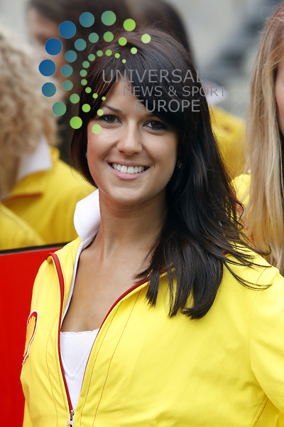 Formel 1 2011,11.Lauf Spa-Francorchamps,26.08.-28.08.11 .Grid Girl..Picture:Hasan Bratic/Universal News And Sport (Europe) 28/08/2011.