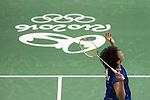 Akane Yamaguchi (JPN), AUGUST 12, 2016 - Badminton : Akane Yamaguchi of Japan in action during the Rio 2016 Olympic Gamges Badminton Women's Singles Group K match at Riocentro Pavilion 4 in Rio de Janeiro, Brazil. (Photo by Enrico Calderoni/AFLO SPORT)