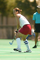 27 August 2005: Tammy Shuer during Stanford's 2-1 overtime loss to Miami (Ohio) at the Varsity Turf Field in Stanford, CA.