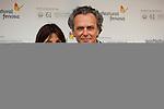 Jose Coronado and Barbara Goenaga during the 61 San Sebastian Film Festival, in San Sebastian, Spain. September 20, 2013. (ALTERPHOTOS/Victor Blanco)