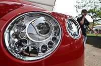 SÃO PAULO, SP, 30.11.2013 – AUTO PREMIUM SHOW - Mercedes-Benz, BMW, Jaguar e outras grandes companhias participam até amanhã do Auto Premium Show, no Jóquei Clube de São Paulo. Combinando elegância e alta qualidade, os veículos expostos no evento podem chegar a quase 2 milhões de reais. Além de automóveis, motos e outros produtos de luxo também tem espaço - como canetas Mont Blanc.Foto: Levi Bianco – Brazil Photo Press.