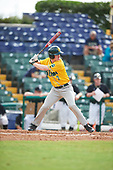 Siena Saints right fielder Zach Durfee (2) during a game against the Pittsburgh Panthers on February 24, 2017 at Historic Dodgertown in Vero Beach, Florida.  Pittsburgh defeated Siena 8-2.  (Mike Janes/Four Seam Images)