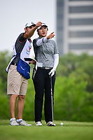 Eun Jeong Seong (KOR) looks over her tee shot on 3 during round 3 of  the Volunteers of America Texas Shootout Presented by JTBC, at the Las Colinas Country Club in Irving, Texas, USA. 4/29/2017.<br /> Picture: Golffile | Ken Murray<br /> <br /> <br /> All photo usage must carry mandatory copyright credit (&copy; Golffile | Ken Murray)