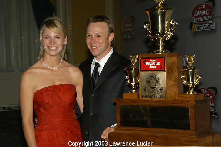 Katie and Matt Kenseth