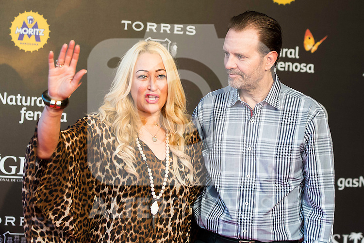 Jennifer Blanc Biehn and Michael Biehn during the red carpet of the opening ceremony of the Festival de Cine Fantastico de Sitges in Barcelona. October 07, Spain. 2016. (ALTERPHOTOS/BorjaB.Hojas)