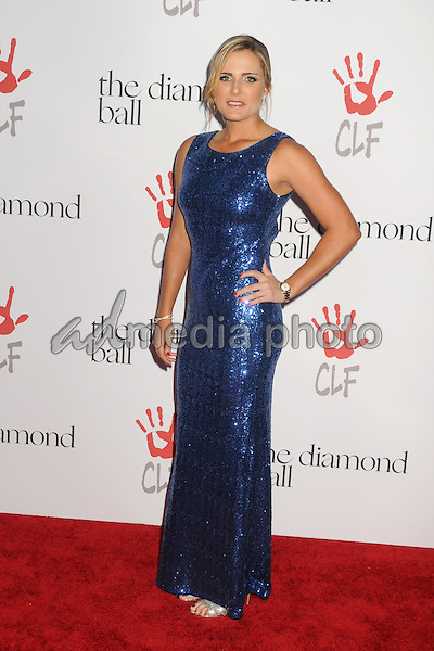 10 December 2015 - Santa Monica, California - Lexi Thompson. 2nd Annual Diamond Ball held at Barker Hangar. Photo Credit: Byron Purvis/AdMedia