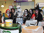 The staff of Specsavers dressed up for Halloween to raise money for Crumlin Childrens hospital. . Photo:Colin Bell/pressphotos.ie
