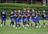 Entreno Gremio de Brasil / Trainig of Gremio from Brazil 09-05-2013