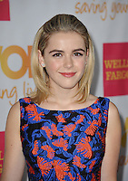 Kiernan Shipka at the 2014 TrevorLIVE Los Angeles Gala at the Hollywood Palladium.<br /> December 7, 2014  Los Angeles, CA<br /> Picture: Paul Smith / Featureflash