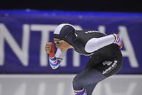 SCHAATSEN: HEERENVEEN: IJsstadion Thialf 21-01-2016, Topsporttraining als voorbereiding op de NK afstanden/Nk Sprint, Annemarie Boer, ©foto Martin de Jong