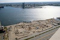 1982 April 07..Redevelopment.Downtown South (R-9)..WATERSIDE.CONSTRUCTION PROGRESS...NEG#.NRHA#..
