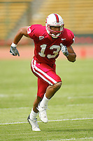 David Lofton during the Spring Game on April 26, 2003 at Stanford Stadium.<br />