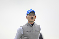 Seungtaek Oh of Team Republic of Korea on the 10th during Round 4 of the WATC 2018 - Eisenhower Trophy at Carton House, Maynooth, Co. Kildare on Saturday 8th September 2018.<br /> Picture:  Thos Caffrey / www.golffile.ie<br /> <br /> All photo usage must carry mandatory copyright credit (&copy; Golffile | Thos Caffrey)