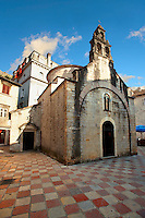St Luke church, St Lukes Square, Kotor Montenegro