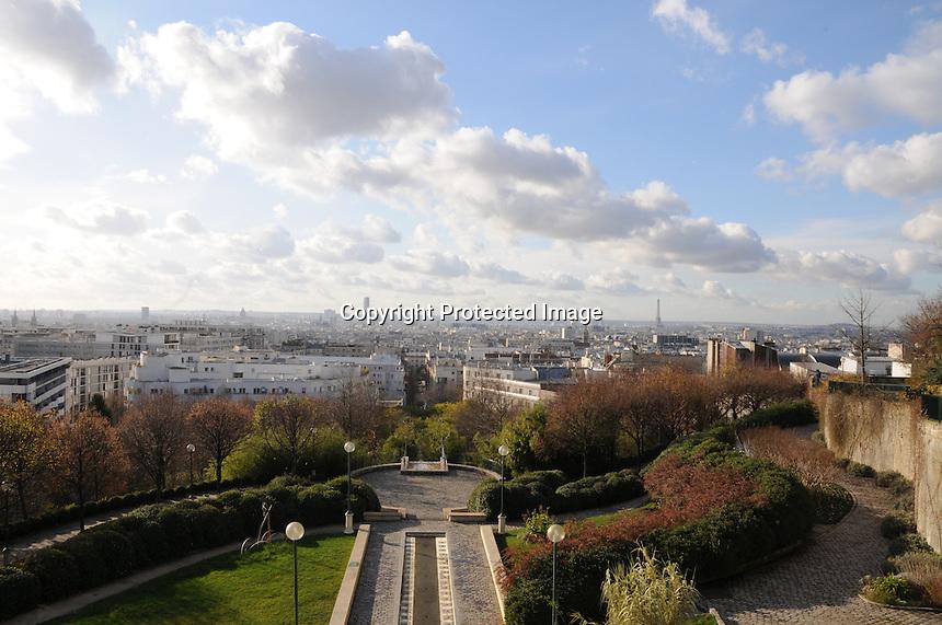 Paris, France stock images.  Seine river, Saint Eustache church, Les Halles, Eiffel Tower, Mur pour la Paix, Champs de Mars, Buttes Chaumont, Metro, Tuileries, Louvre