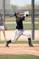 Ian Gac, Chicago White Sox minor league spring training..Photo by:  Bill Mitchell/Four Seam Images.