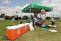 Gatorade hydration station during day three of the US Soccer Development Academy  Spring Showcase in Sarasota, FL, on May 24, 2009.